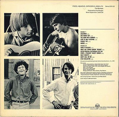 Monkees, Pisces, Aquarius, Capricorn & Jones Ltd.