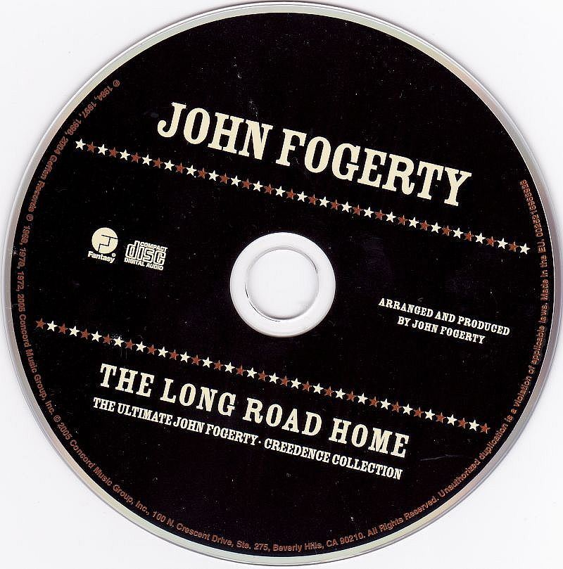 CD, John Fogerty (Creedence Clearwater Revival), The long road home 2005