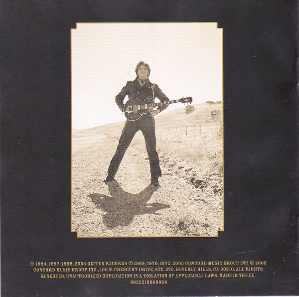 CD, John Fogerty (Creedence Clearwater Revival), The long road home
