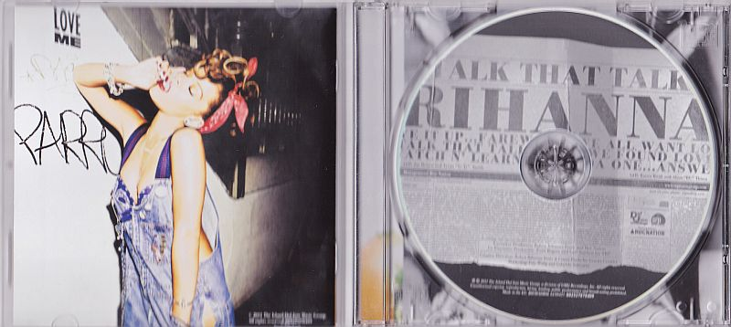 CD, Rihanna, Talk that talk 2011