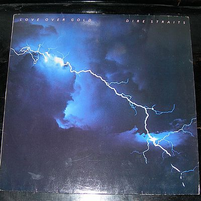 LP, Dire Straits, Love Over Gold