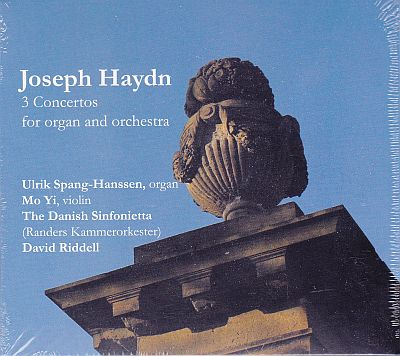 CD, Joseph Haydn, 3 concertos for organ and orchestra