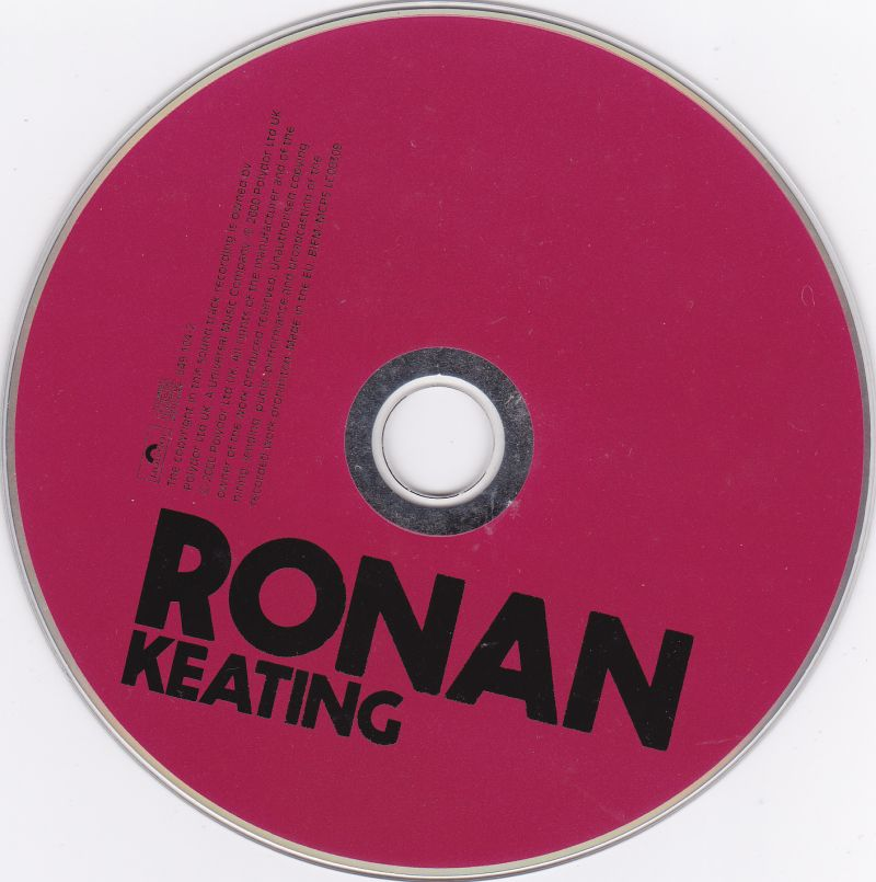 CD, Ronan Keating, Ronan 2000