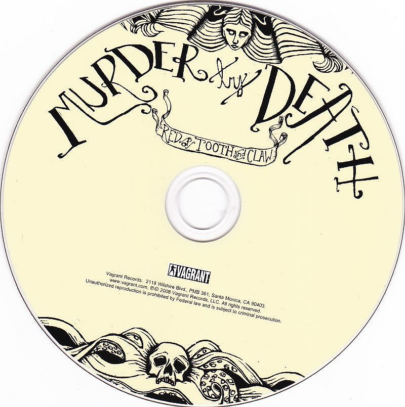 CD, Murder by Death, Red of tooth and claw
