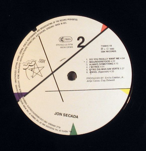 LP, Jon Secada, Do