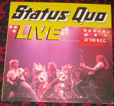 LP, Status Quo, Live At The N.E.C.