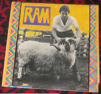 LP, Paul and Linda McCartney, Ram