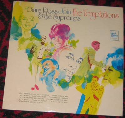 LP, Diana Ross And Suprimes, Diana Ross And The Suprimes Join 1. The Temptations