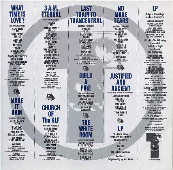LP, KLF, The White Room 1991