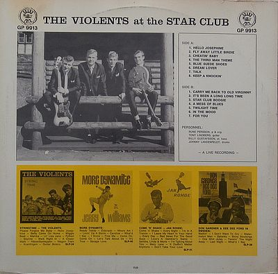 Violents, Live At The Star Club