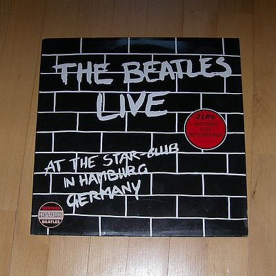 2LP, Beatles, LIVE at the Star Club in Hamburg, Germany