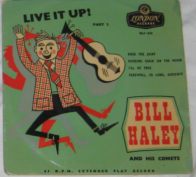 EP, Bill Haley And His Comets, Live It Up - Part 2