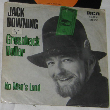 7, Jack Downing, Greenback Dollar