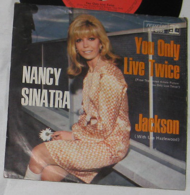 7, Nancy Sinatra, You Only Live Twice