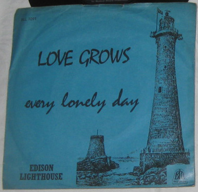 7, Edison Lighthouse, Love Grows (Where My Rosemary Goes)