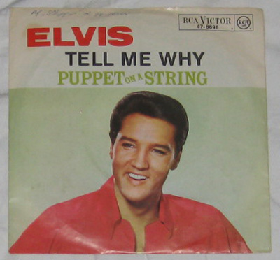 7, Elvis Presley with The Jordanaires, Tell Me Why