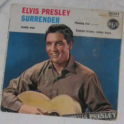 EP, Elvis Presley with The Jordanaires, Surrender