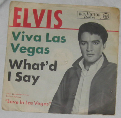 7, Elvis Presley with The Jordanaires, Viva Las Vegas