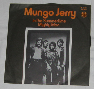 7, Mungo Jerry, In The Summertime