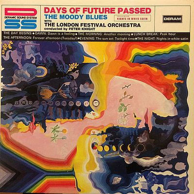 LP, Moody Blues -, Days Of Future Passed
