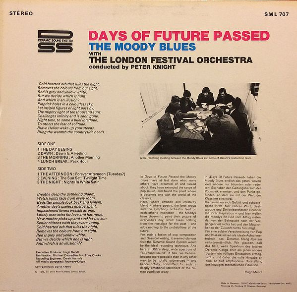 Moody Blues -, Days Of Future Passed