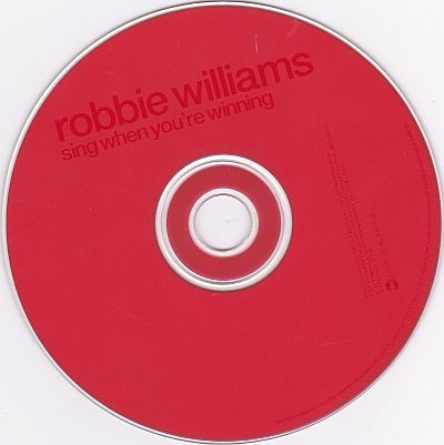 CD, Robbie Williams, Sing when you