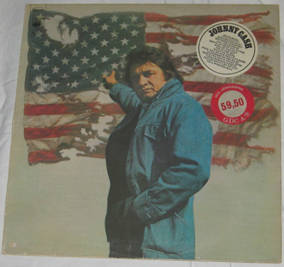 LP, Johnny Cash, Ragged Old Flag