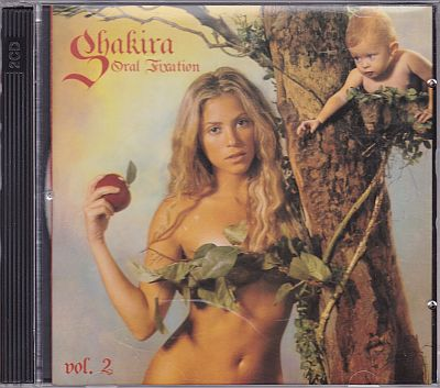 Shakira, Oral Fixation vol. 2 Epic 82876738952