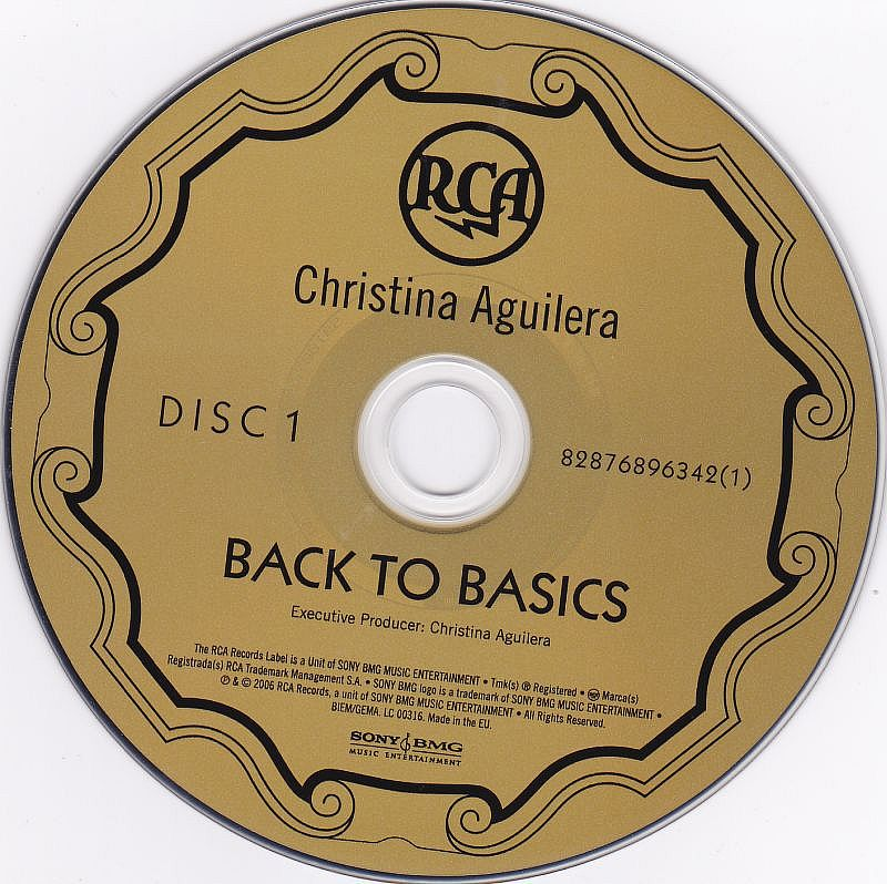 2CD, Christina Aguilera, Back to Basics 2006