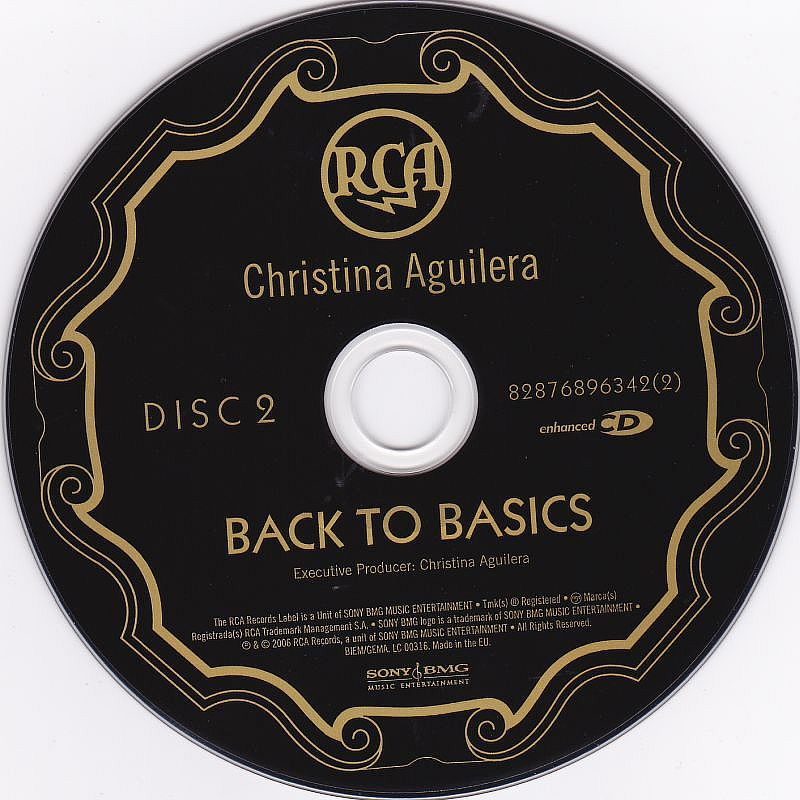 2CD, Christina Aguilera, Back to Basics