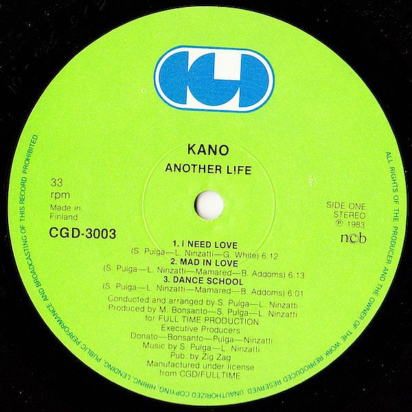 LP, Kano, Another Life 1983