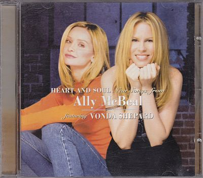 Vonda Shepard, Heart and soul New songs from Ally McBeal Epic 495091 2