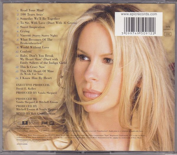 Vonda Shepard, Heart and soul New songs from Ally McBeal