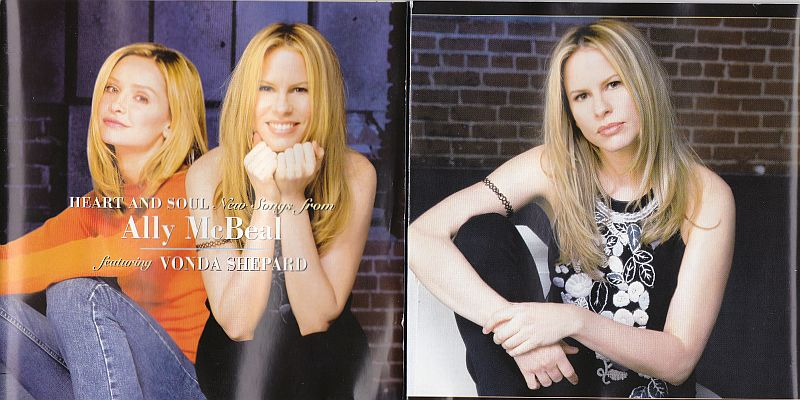 CD, Vonda Shepard, Heart and soul New songs from Ally McBeal