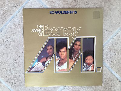 Boney M. 20 golden hits BM TV 1