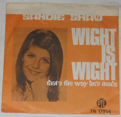 7, Sandie Shaw, Wight Is Wight