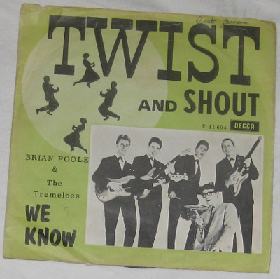 7, Brian Poole And The Tremeloes, Twist And Shout