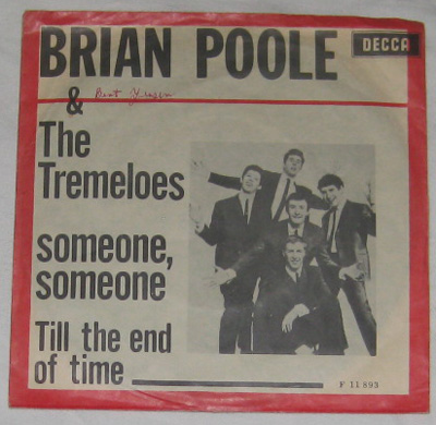 7, Brian Poole And The Tremeloes, Someone, Someone