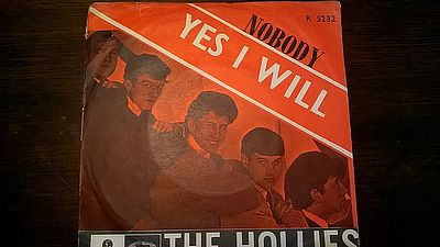 Hollies Yes I Will Parlaphone -  R5232