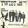 Brian Poole And The Tremeloes Twist And Shout Decca - F 11694