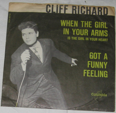 7, Cliff Richard and The Shadows, Got A Funny Feeling