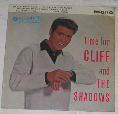 EP, Cliff Richard and The Shadows, Time for Cliff and the Shadows