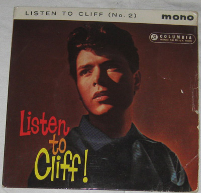EP, Cliff Richard, Listen to Cliff No 2.
