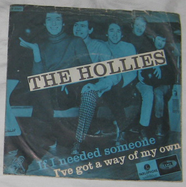 7, Hollies, If I Needed Someone