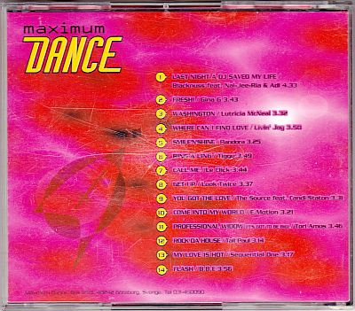 Various, Maximum Dance 5 Maximum Dance 5/97