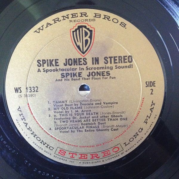 LP, Spike Jones, Spike Jones in Stereo 1959