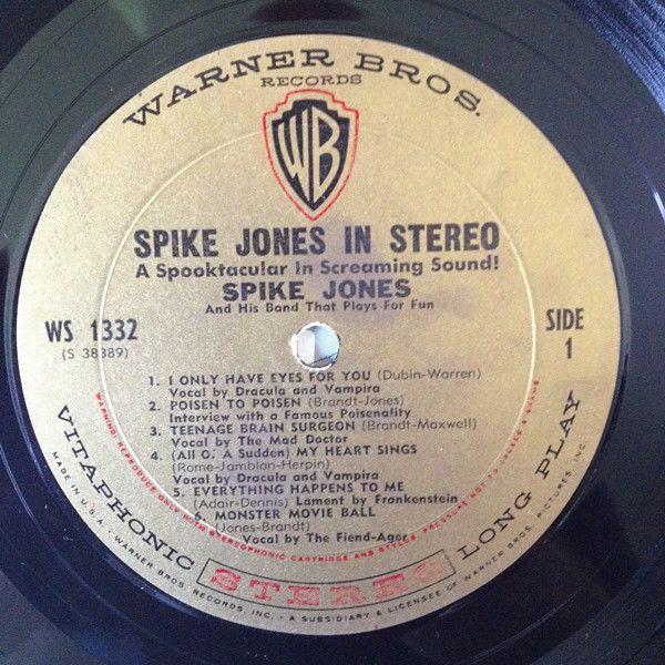 LP, Spike Jones, Spike Jones in Stereo