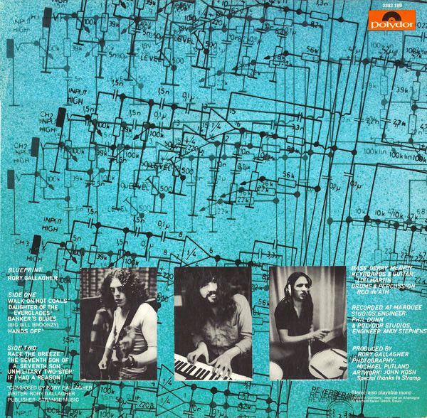 Rory Gallagher, Blueprint