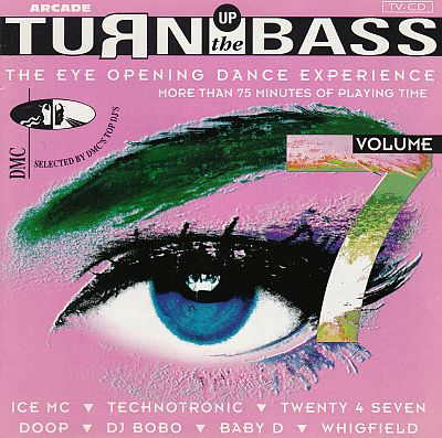 CD, Various, Turn up the Bass Volume 7