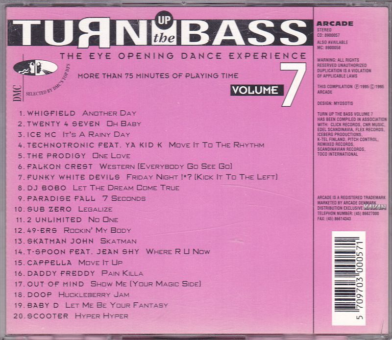 Various, Turn up the Bass Volume 7